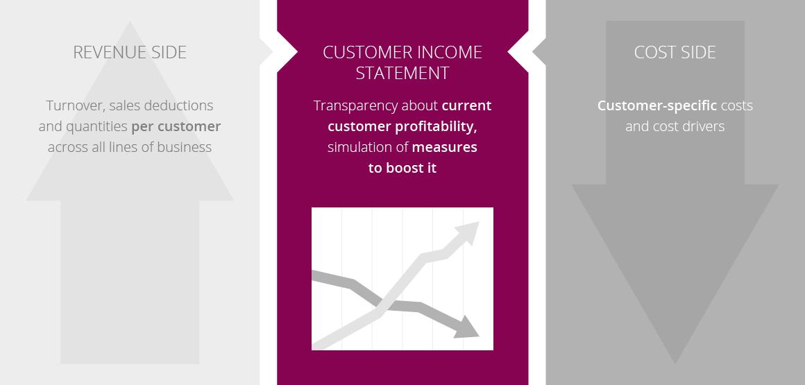 ctcon customer income statement